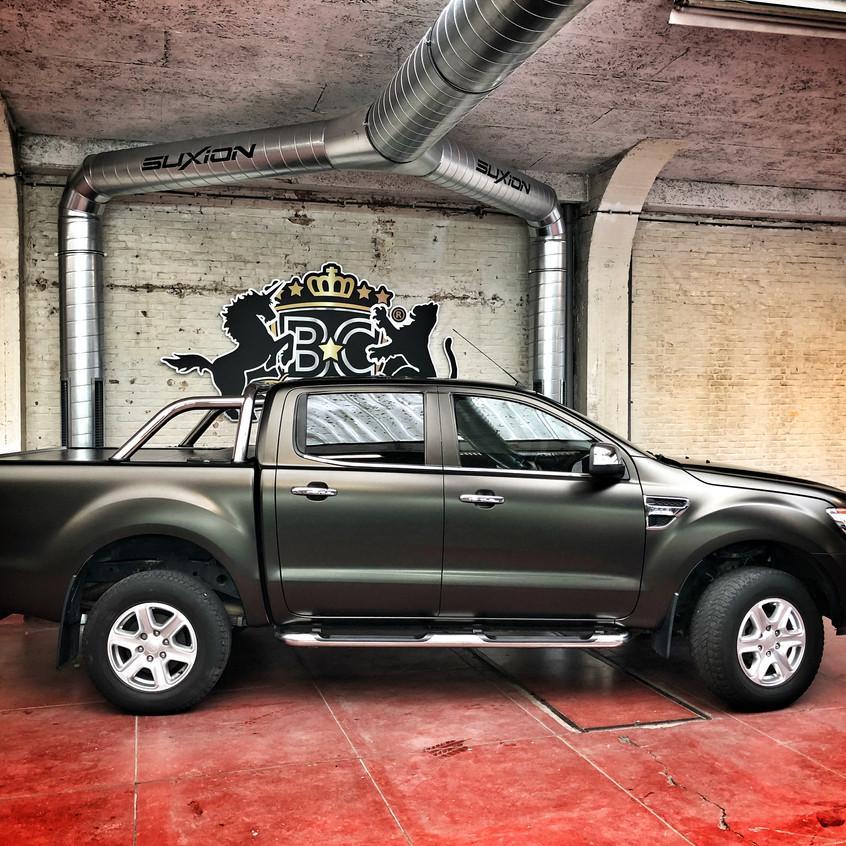 Ford Ranger Sating Gold Dust Wrap