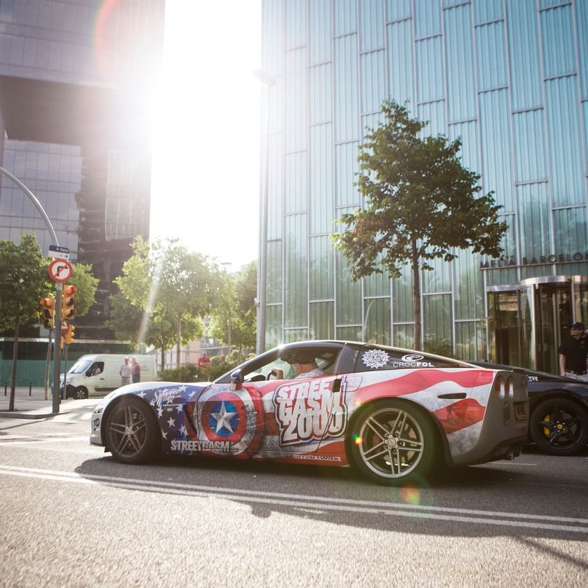 Streetgasm Corvette Carwrap