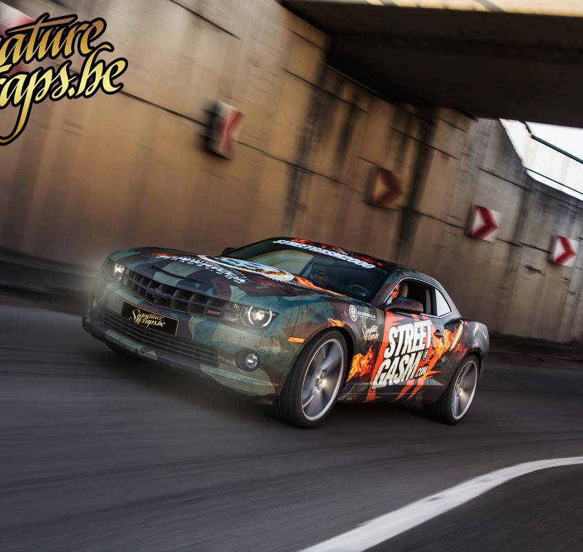 Camaro Streetgasm Carwrap