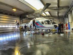 AS355 Helicopter wrap Martini
