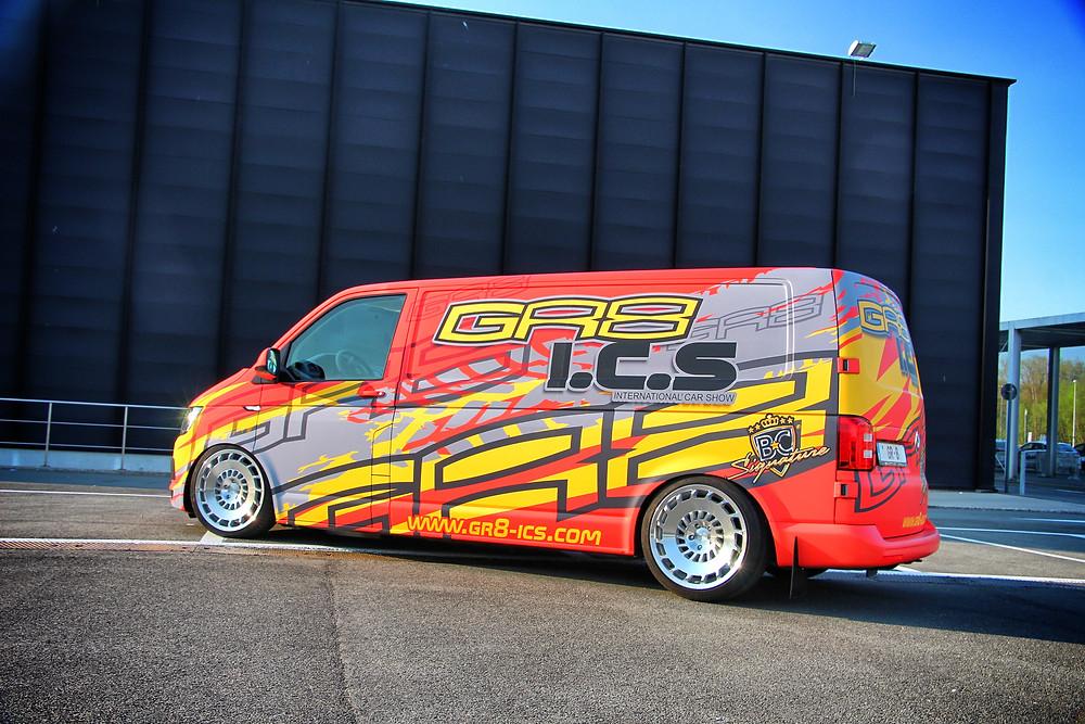 GR8 VW Transporter Van wrap