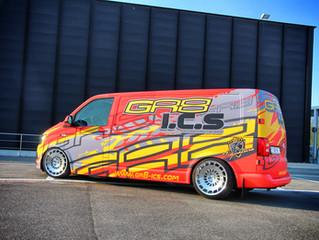 GR8 Transporter Van Wrap