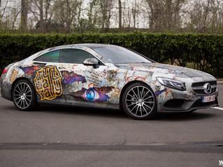 Mercedes S-Klass Coupé Rusted