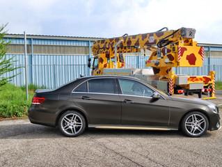 Mercedes E-Class Gold Dust
