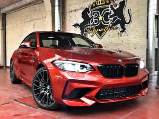 BMW M2 Competition - Xpel Platinum wrap