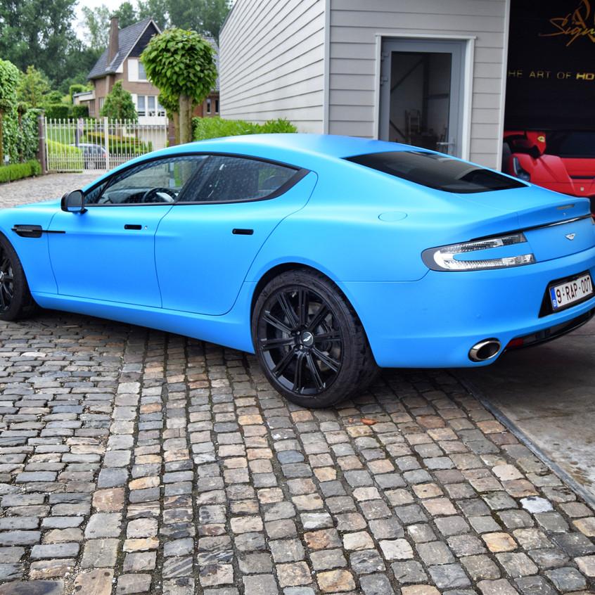 Aston Martin Rapide Carwrap