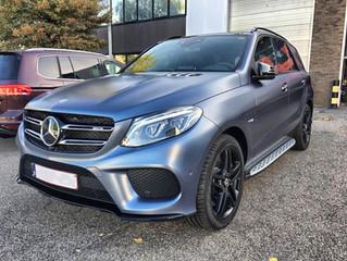Mercedes ML - Satin Graphite Wrap