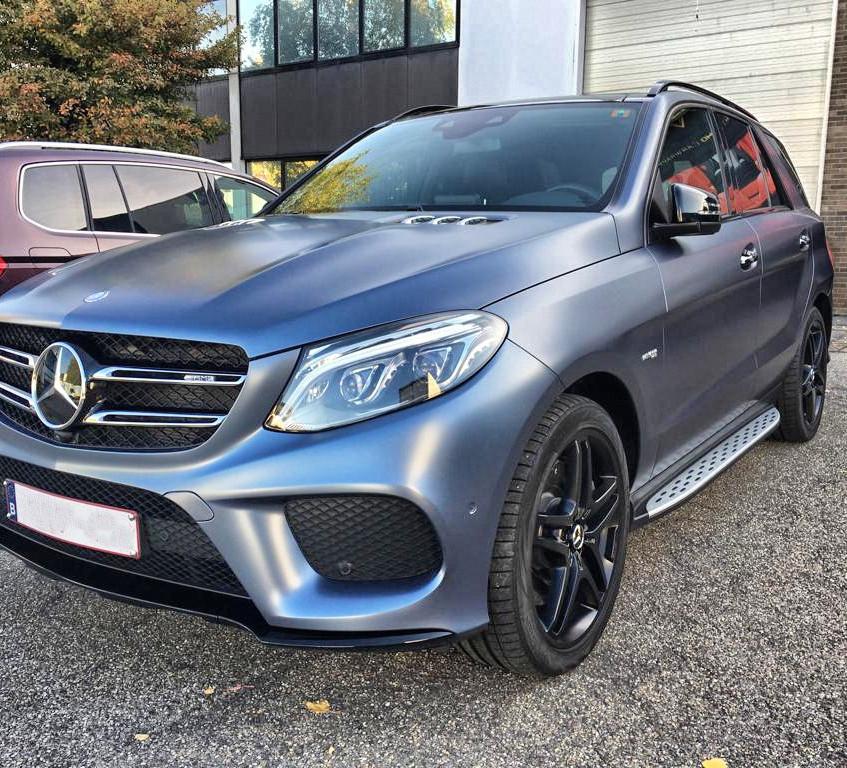 Mercedes ML Graphite Wrap