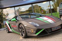 Lamborghini Gallardo italia carwrap