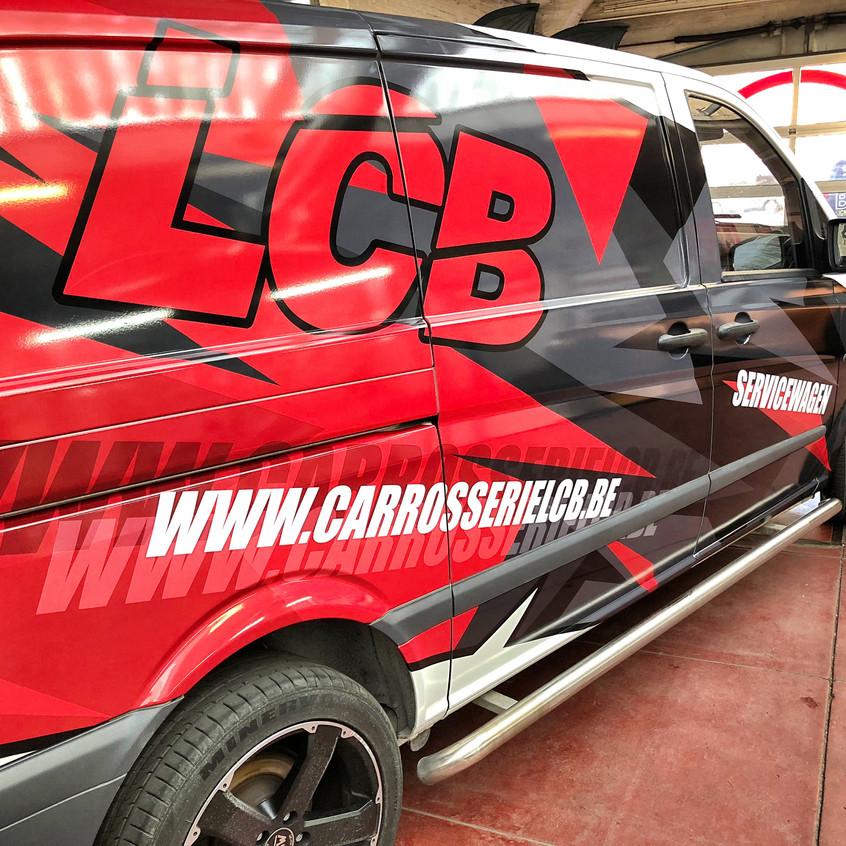 Mercedes Vito wrap LCB