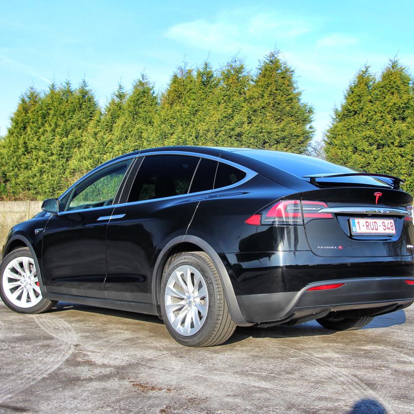 Tesla Model X P100D Xpel carwrap