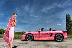 Porsche Boxster carwrap