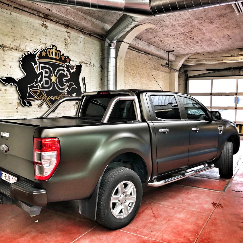 Ford Ranger Sating Gold Dust Wrap315
