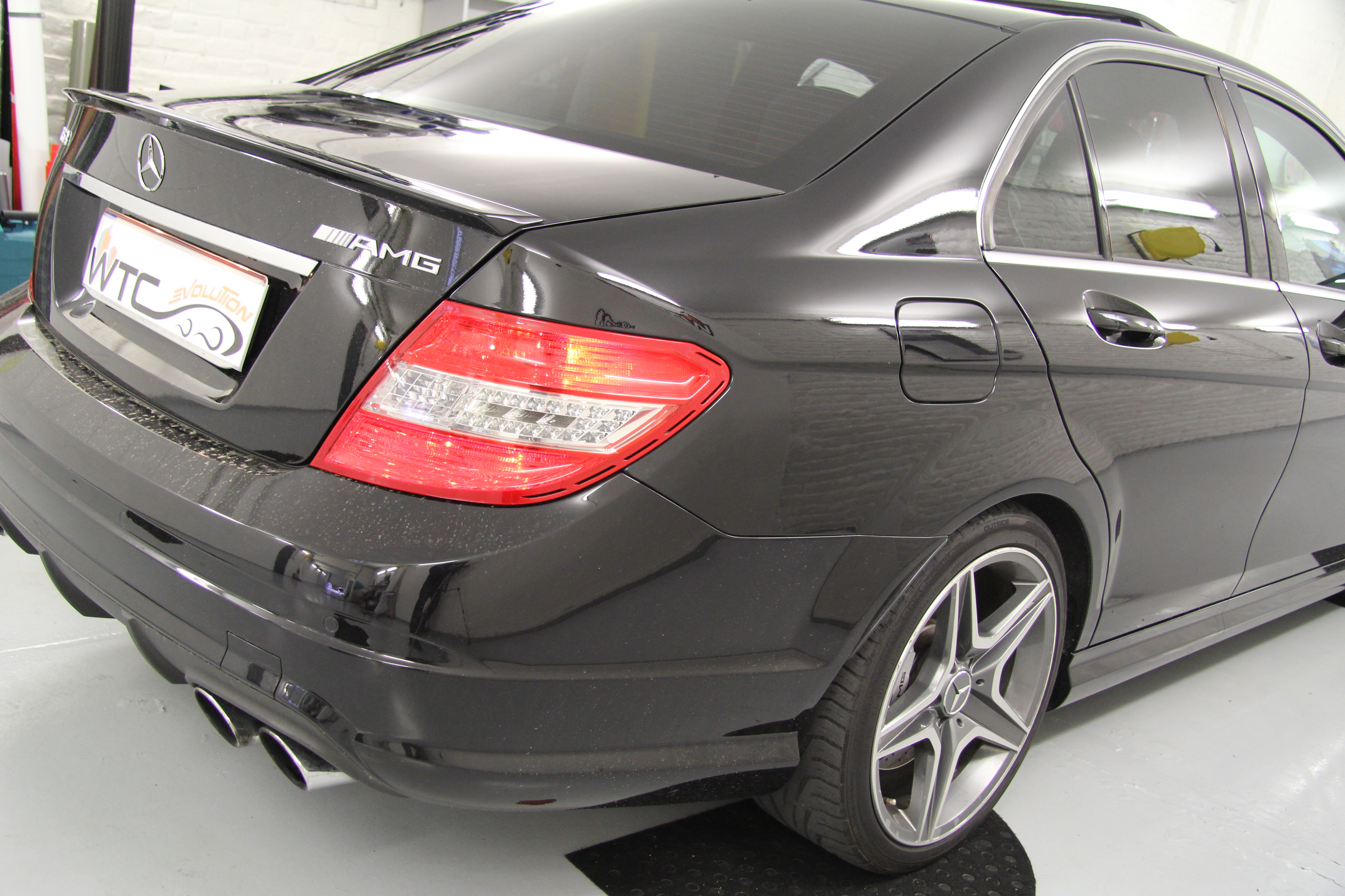 Mercedes C AMG windowtint