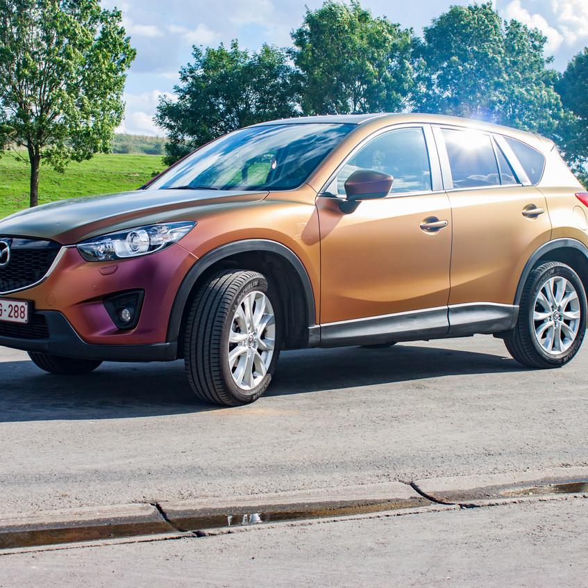 Mazda CX-5 Colorflow Rising Sun Wrap