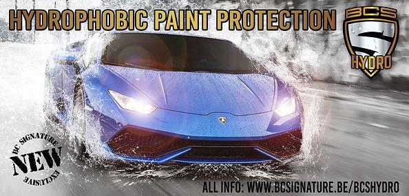 BCS Hydro Lamborghini Huracan Paint Protection film