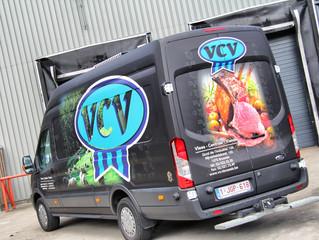 VCV Vleescentrale - Ford Transit Wrap