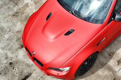 BMW E92 M3 Racing Red carwrap