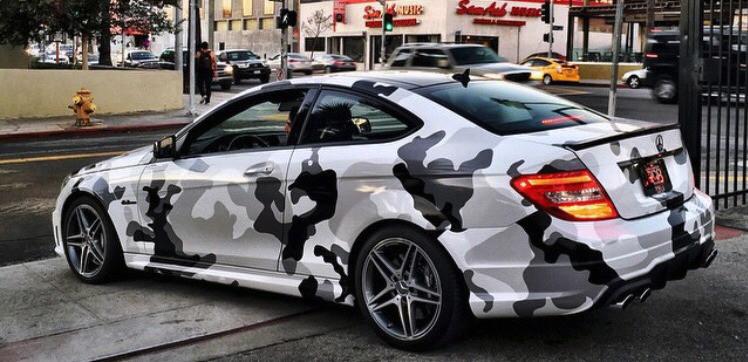 Mercedes C AMG Snowcamo