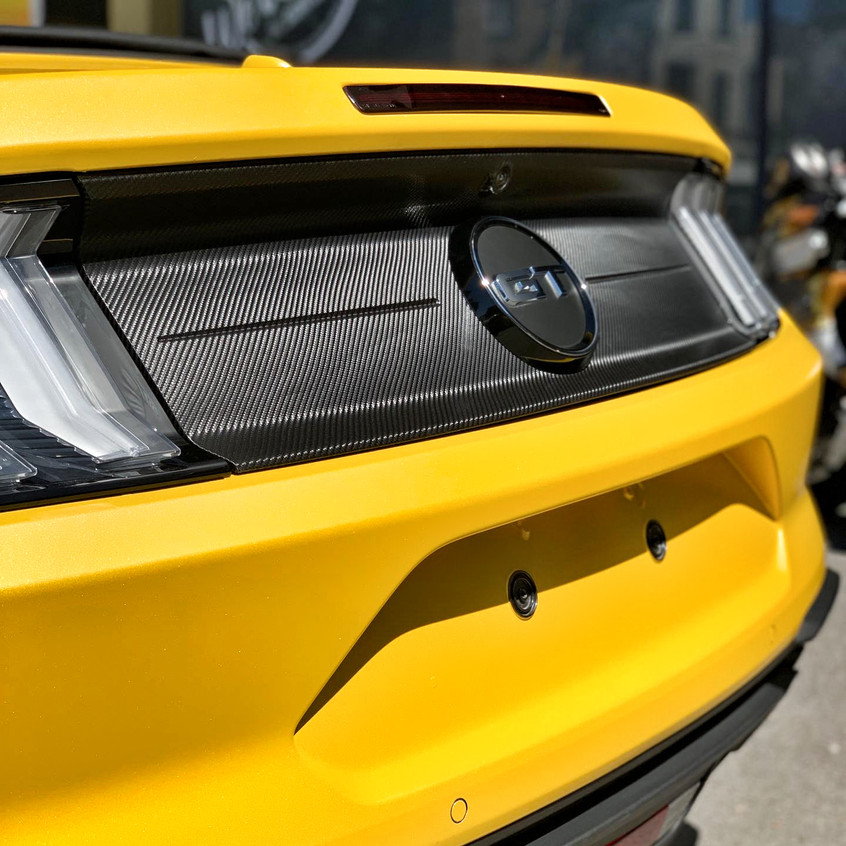 Mustang GT Sunflower Yellow Carwrap