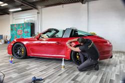 Porsche 991 Targa Xpel
