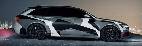 Jon Olsson Audi carwrap