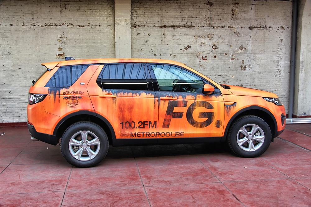 Land Rover Discovery Radio FG
