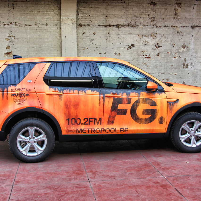 Range Rover - Radio FG