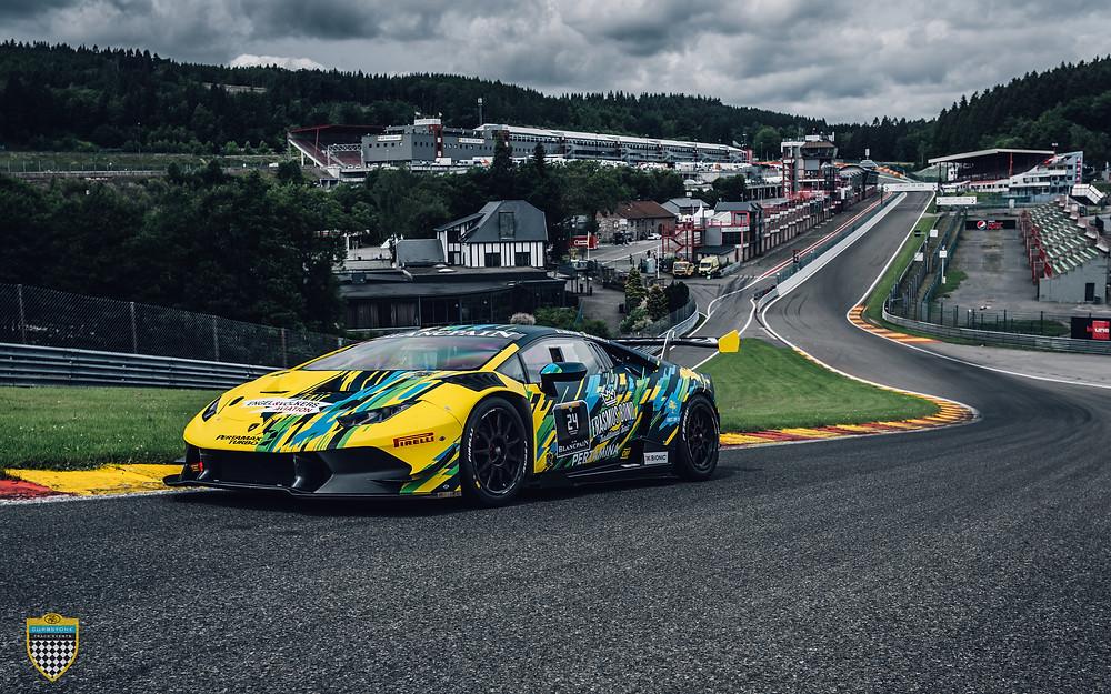 Lamborghini Huracan - Erasmus Bond carwrap