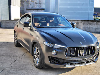 Maserati Levante - Satin Black Wrap