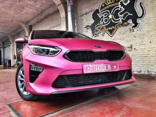 Kia Ceed - Matte Metallic Pink Wrap