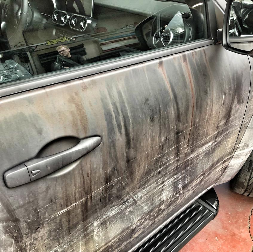 Mercedes X-Classe Weathered Wrap