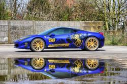 Ferrari 458 Carwrap