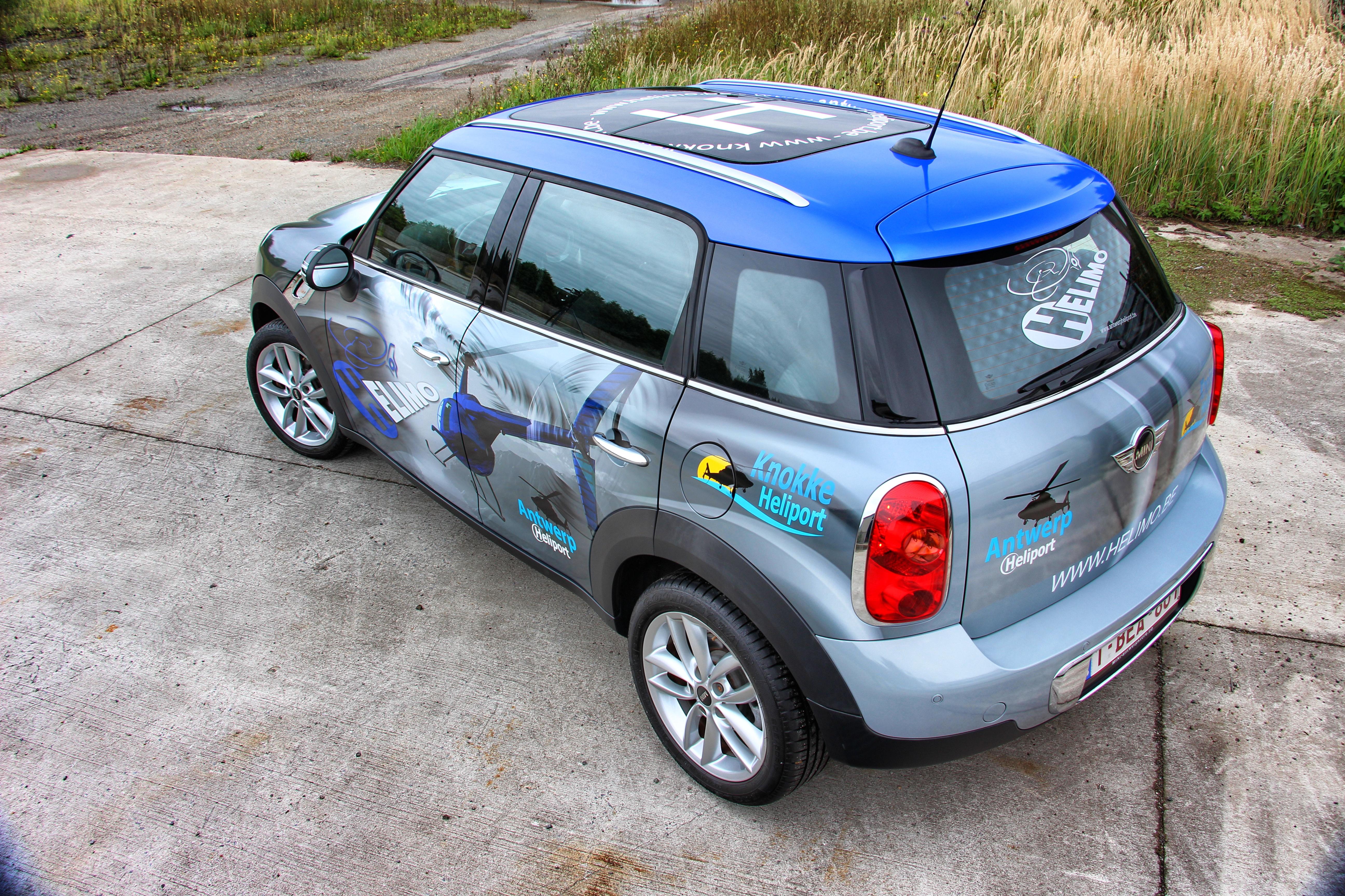 Helimo Mini Countryman Carwrap