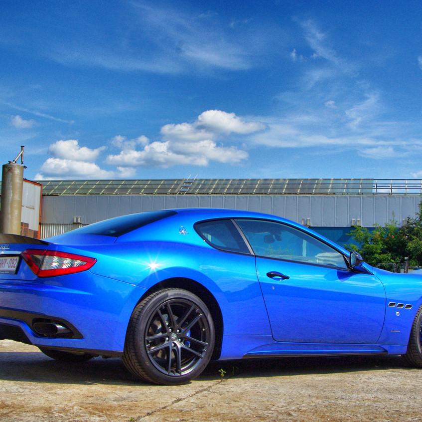 Maserati Granturismo Xpel carwrap