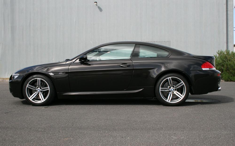 BMW M6 Avery Gloss Metallic Black Carwrap