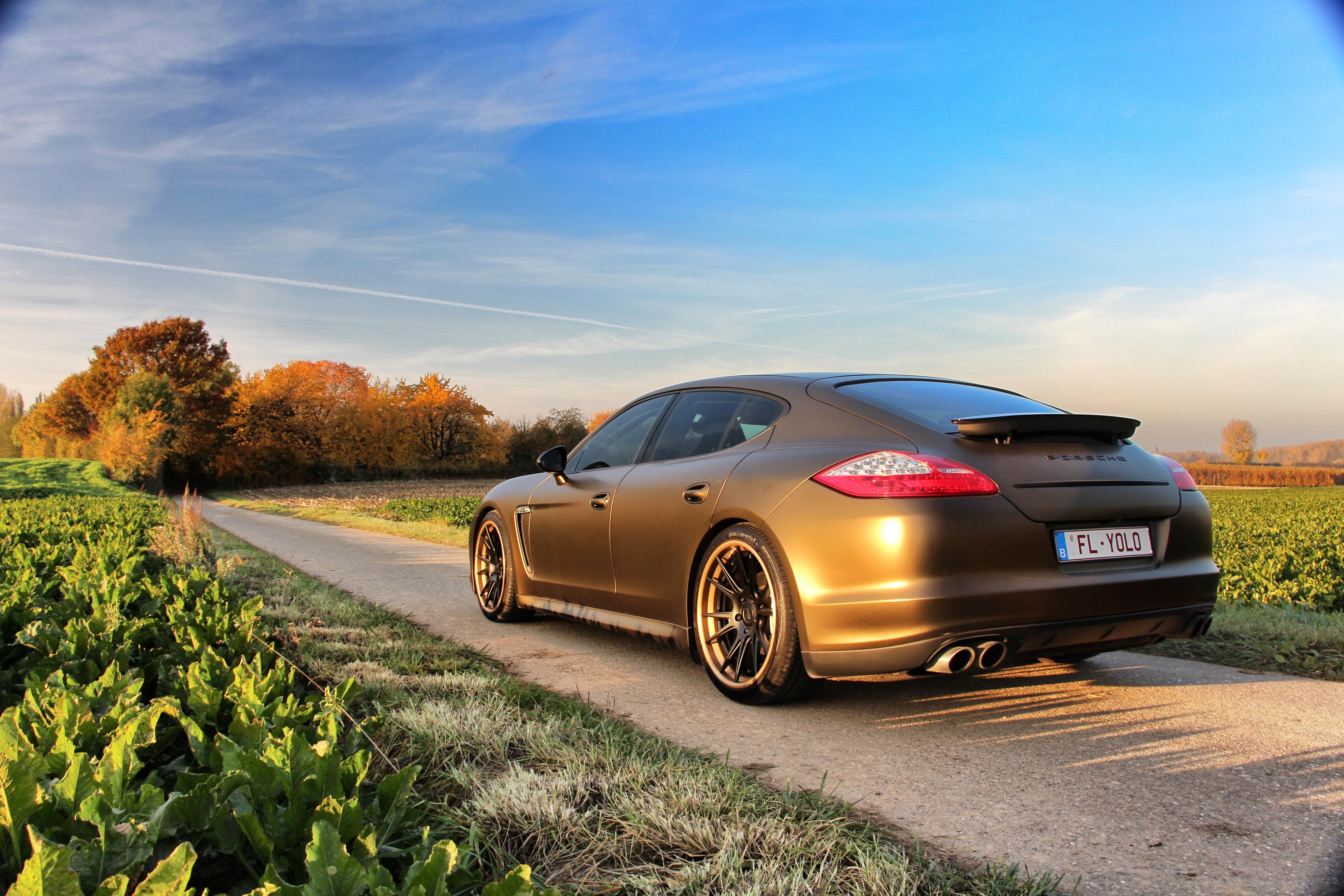 Porsche Panamera Niche wheels