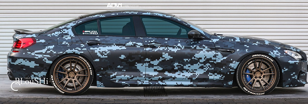 BMW M6 Digital Camo Wrap