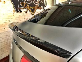 Mercedes AMG GLE Orange Art - Satin Silver Carwrap