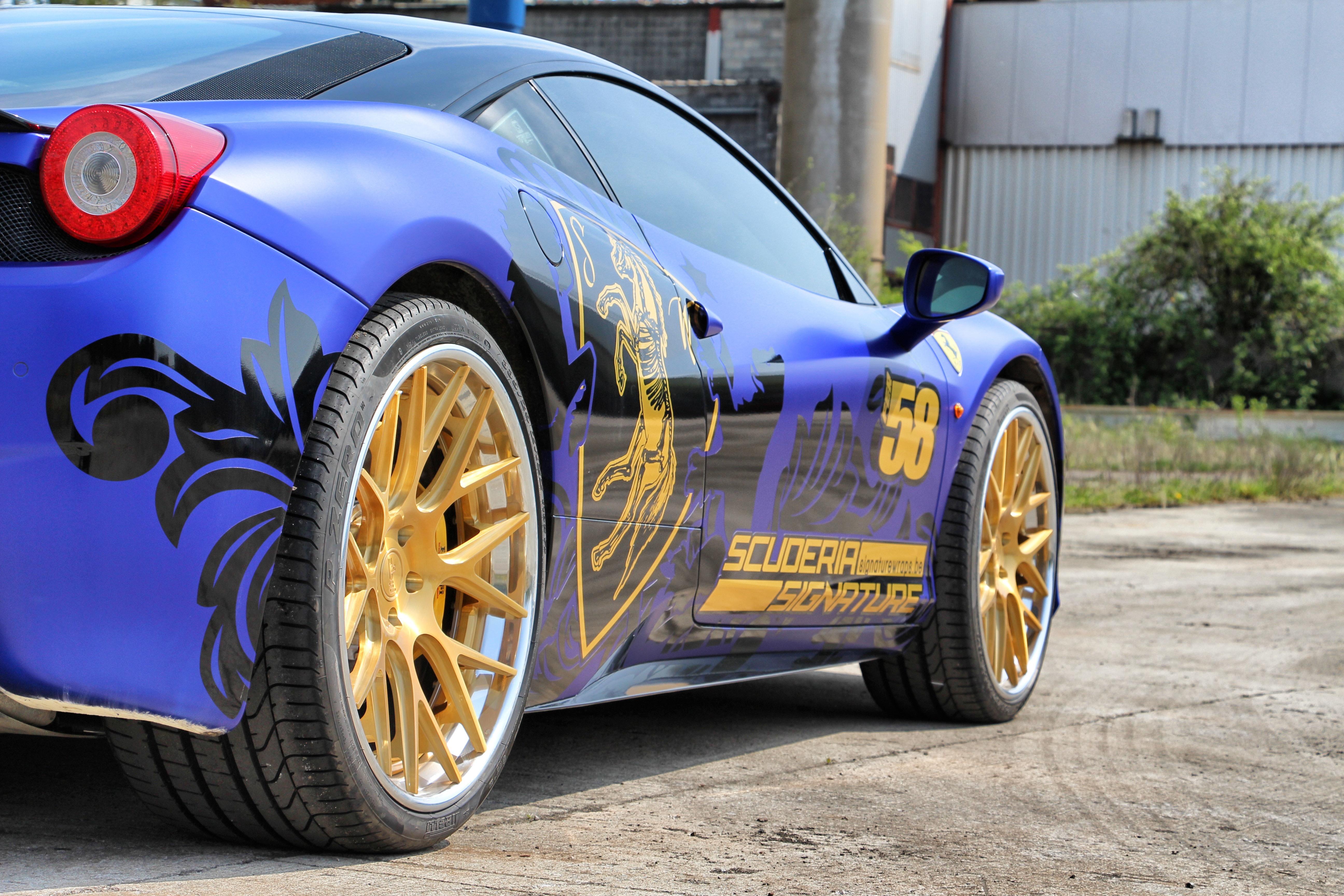 Ferrari 458 Niche Circuit wheels