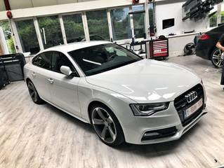 Audi A5 Gloss Grey Carwrap