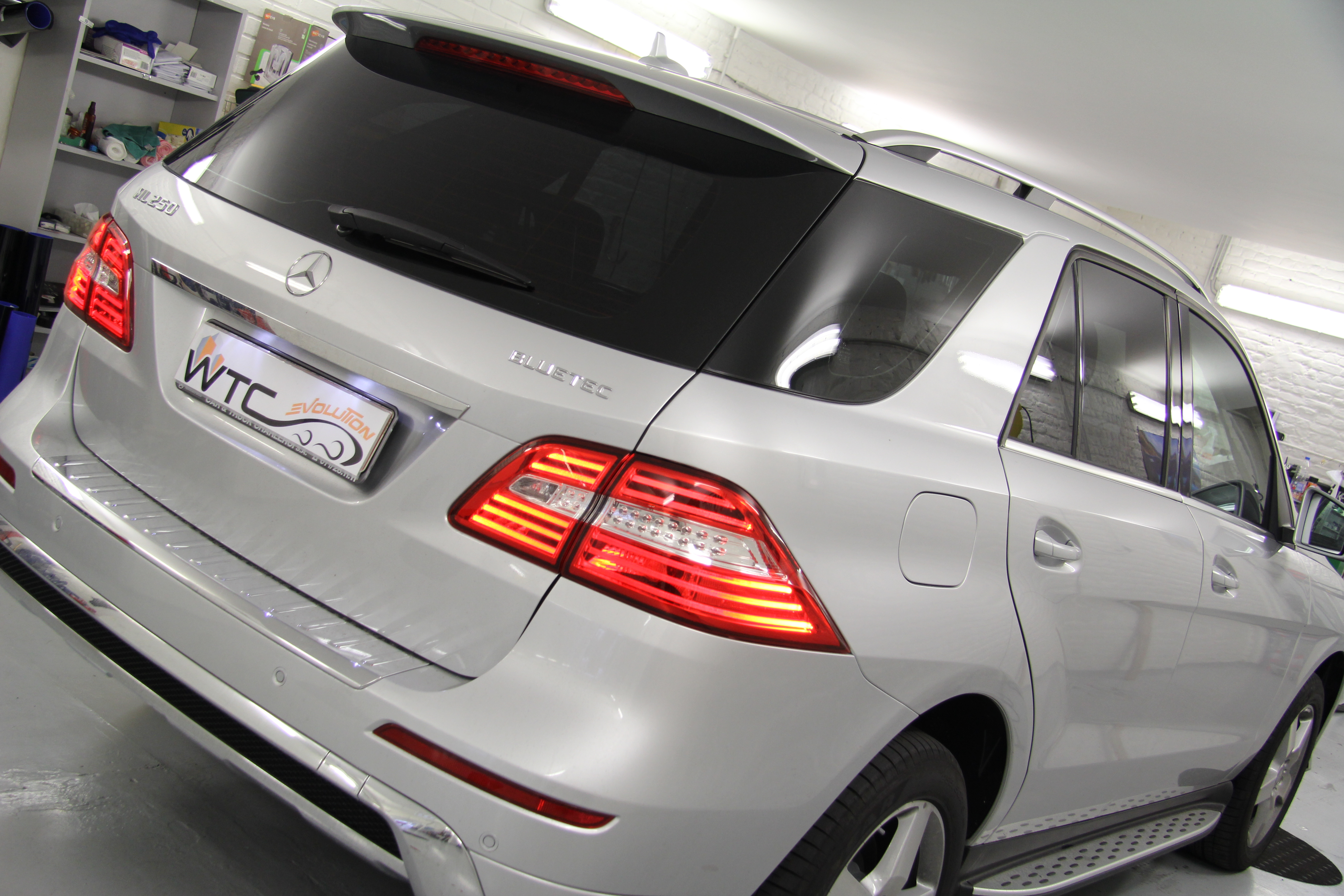 Mercedes GL windowtint