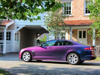 Jaguar XF ColorFlow wrap