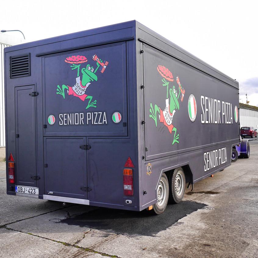 Senior Pizza Marktwagen wrapSenior P