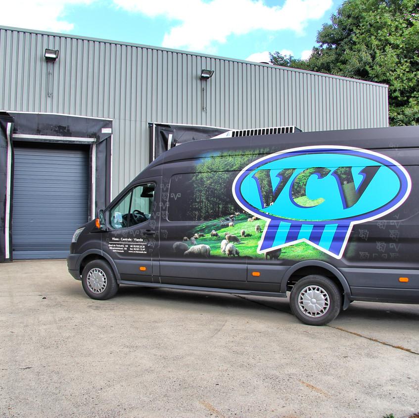 VCV Ford Transit Printwrap
