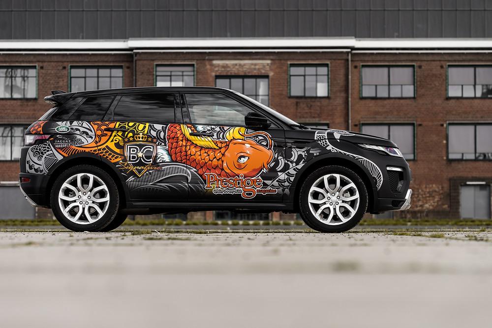 Prestige Evoque Carwrap
