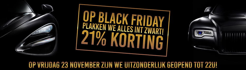 Black Friday 21% Korting
