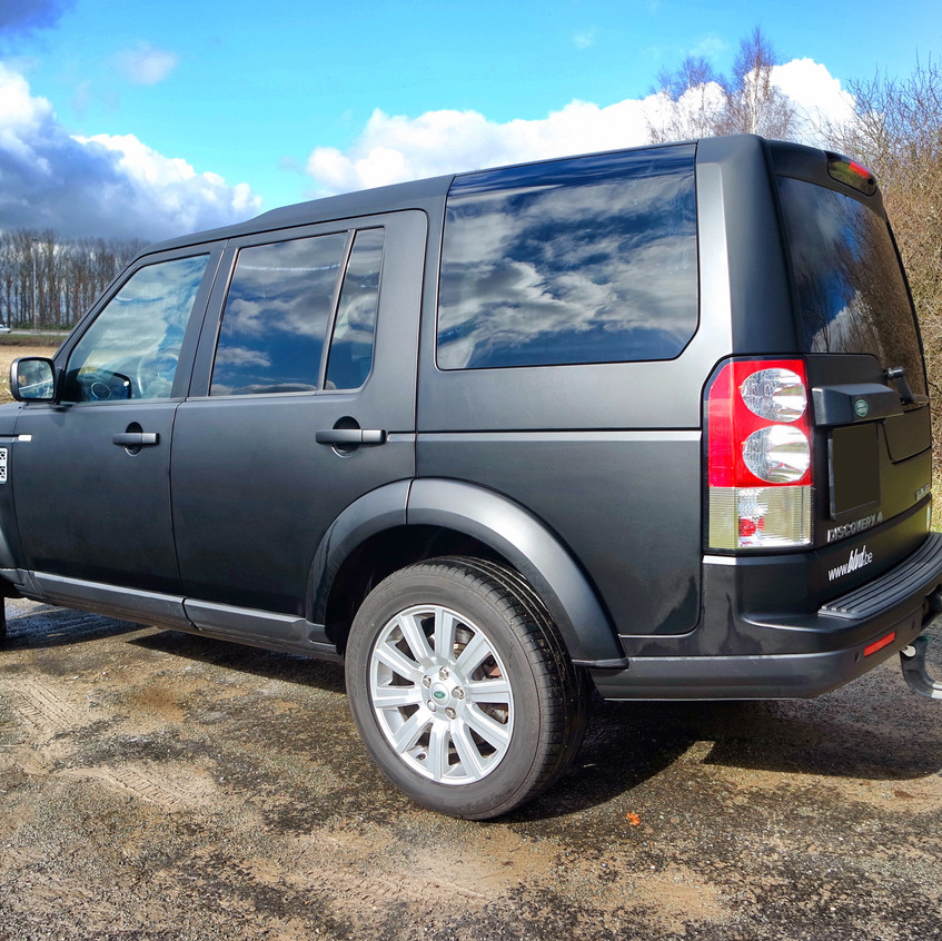 Land Rover Discovery Carwrap