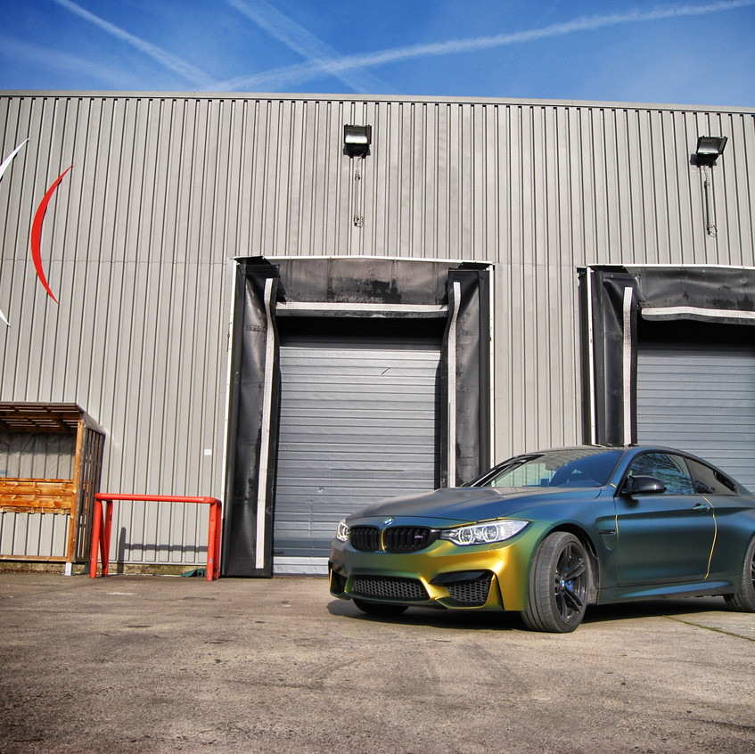 BMW M4  Colorflow Fresh Spring wrap