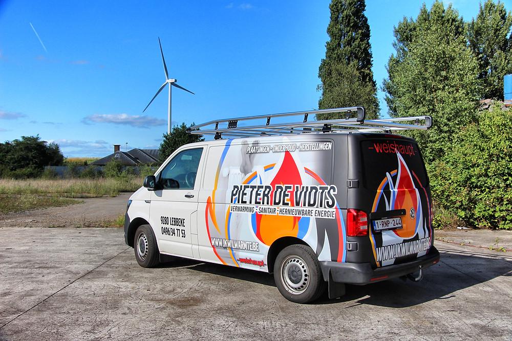 Pieter De Vidts Transporter Carwrap
